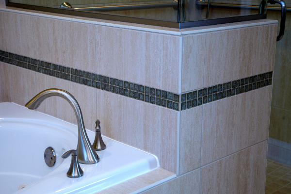 bathroom fixtures and tile
