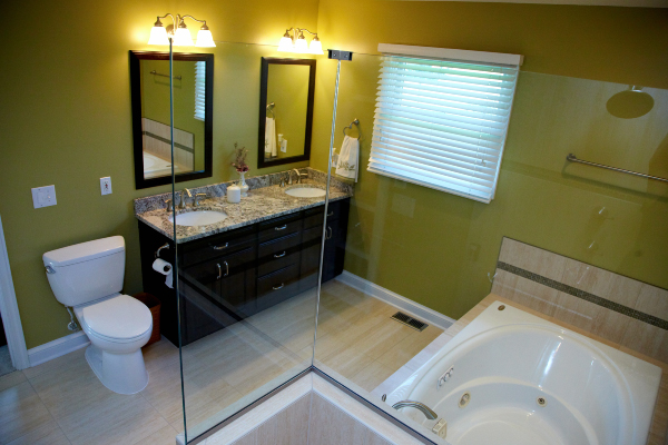 overview of bathroom remodel in ohio