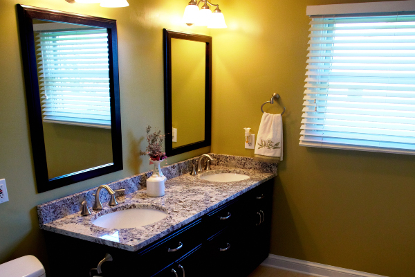 bathroom granite large mirrors