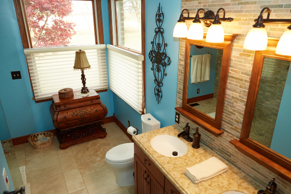 remodeled bathroom in ohio