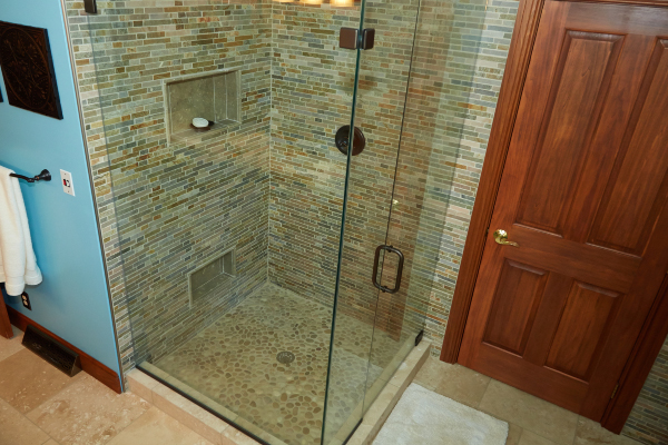 glass shower installation in ohio