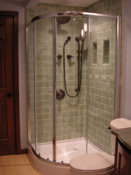 Tall Bathroom shower